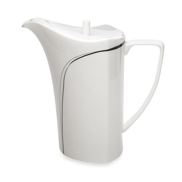 Alternate image 1 for Mikasa® Modernist Black 42 oz. Coffee Server