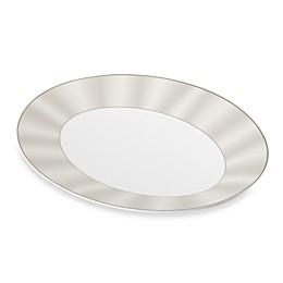 Nikko Silk Platinum Oval Platter