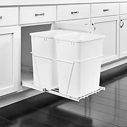 Rev-A-Shelf Pullout Waste Containers in White