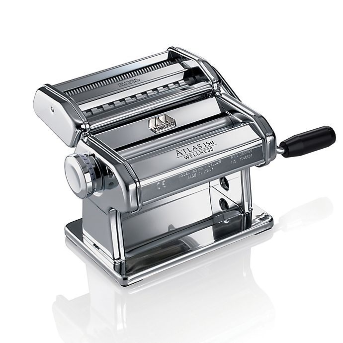 Alternate image 1 for Marcato Atlas 150mm Roller Pasta Machine
