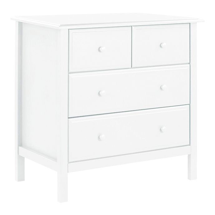 Alternate image 1 for DaVinvi Autumn 4-Drawer Changer Dresser in White