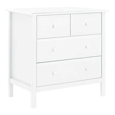 DaVinvi Autumn 4-Drawer Changer Dresser in White