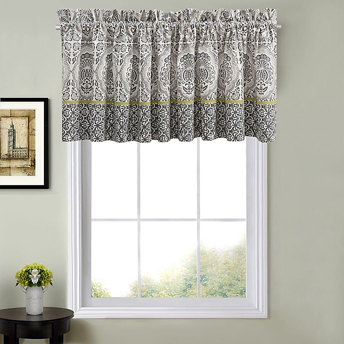 Alternate image 1 for Calais Valance in Charcoal