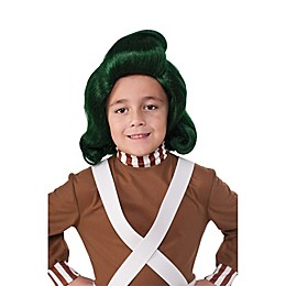 Willy Wonka Oompa Loompa One-Size Child's Wig