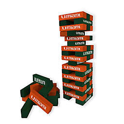 University of Miami Table Top Stackers Game
