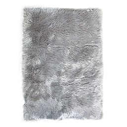 Tadpoles™ Faux Fur Shag Area Rug