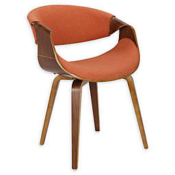Lumisource® Wood Upholstered Curvo Dining Chair