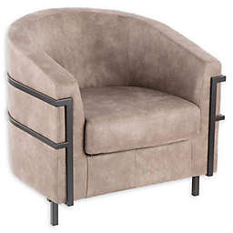 Lumisource® Metal Upholstered Colby Chair