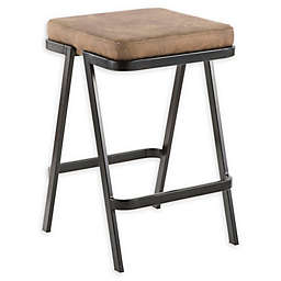 Lumisource® Metal Upholstered Seven Bar Stool