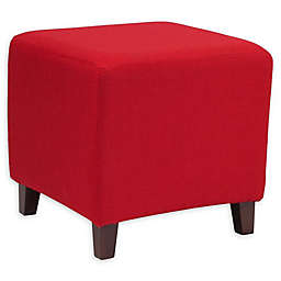 Flash Furniture Ascalon Upholstered Ottoman Pouf