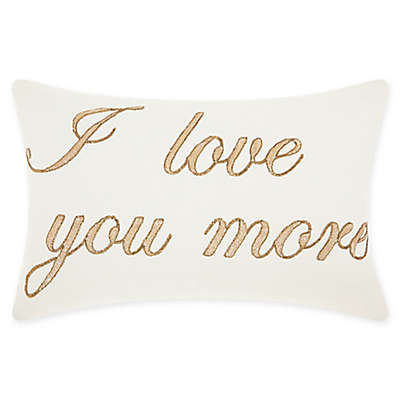 Mina Victory By Nourison I Love You More Oblong Throw Pillow
