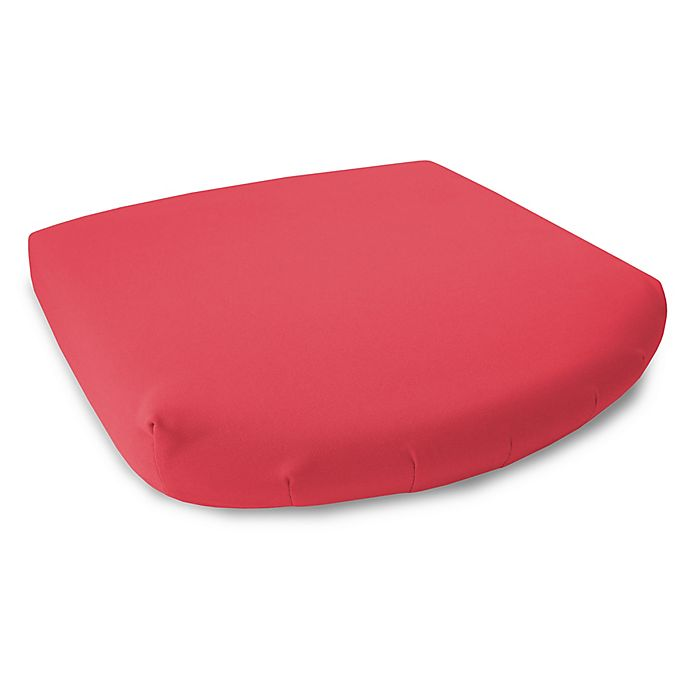 Alternate image 1 for 17-Inch Outdoor Seat Cushions in Sunbrella® Canvas Jockey Red (Set of 2)