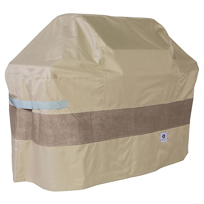 Alternate image 1 for Duck Covers Elegant 53-Inch Patio Grill Cover in Coffee