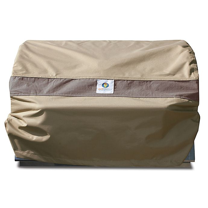 Alternate image 1 for Duck Covers Elegant Patio Grill Cover in Coffee