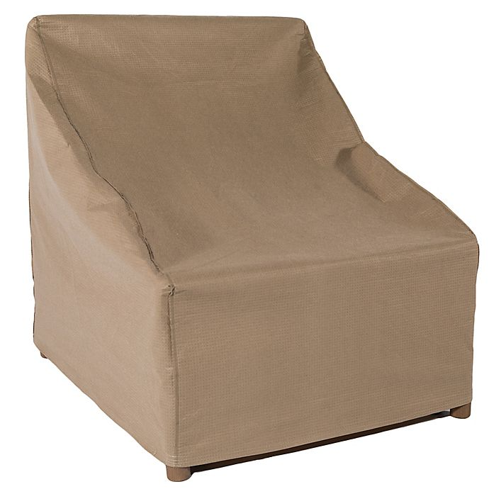 Awe Inspiring Duck Covers Essential Outdoor Chair Cover In Latte Bed Ibusinesslaw Wood Chair Design Ideas Ibusinesslaworg