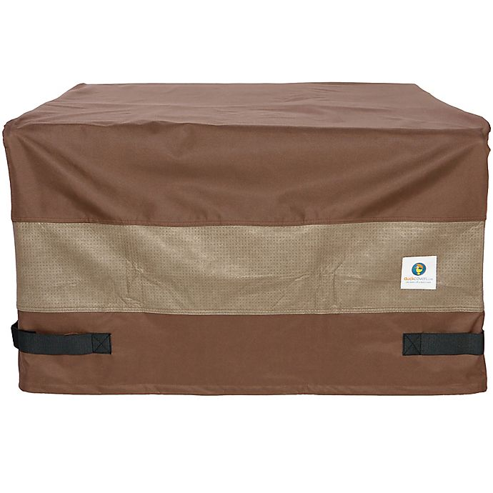 Alternate image 1 for Duck® Ultimate Series Square Fire Pit Cover in Mocha