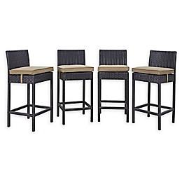 Modway Convene Patio Pub Chair (Set of 4)