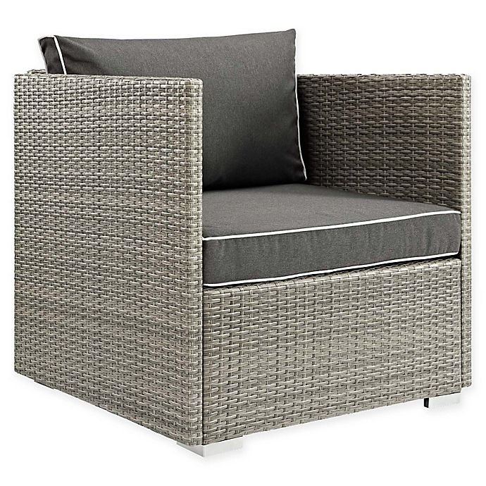 Alternate image 1 for Modway Repose Outdoor Armchair