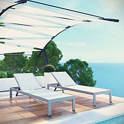 Modway Shore Outdoor Chaise (Set of 2)