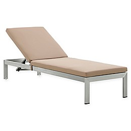 Modway Shore Outdoor Chaise with Cushions