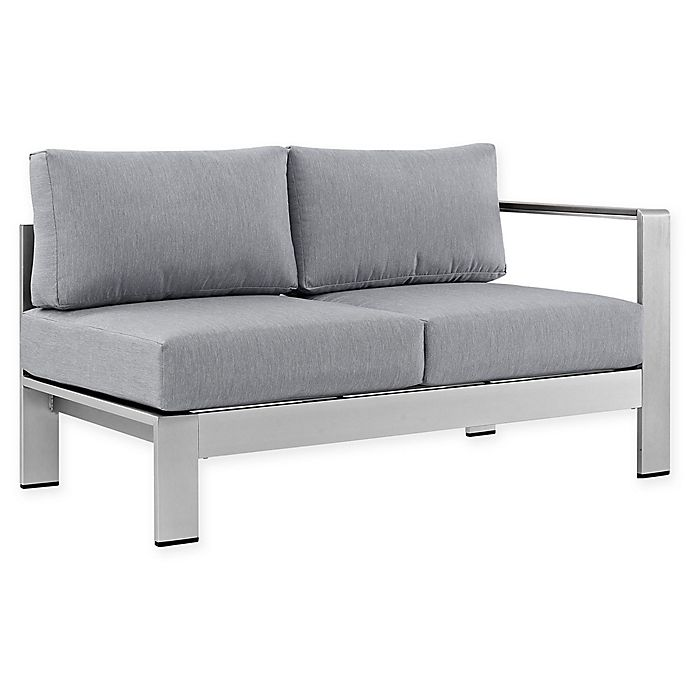 Alternate image 1 for Modway Shore Outdoor Right-Arm Corner Sectional
