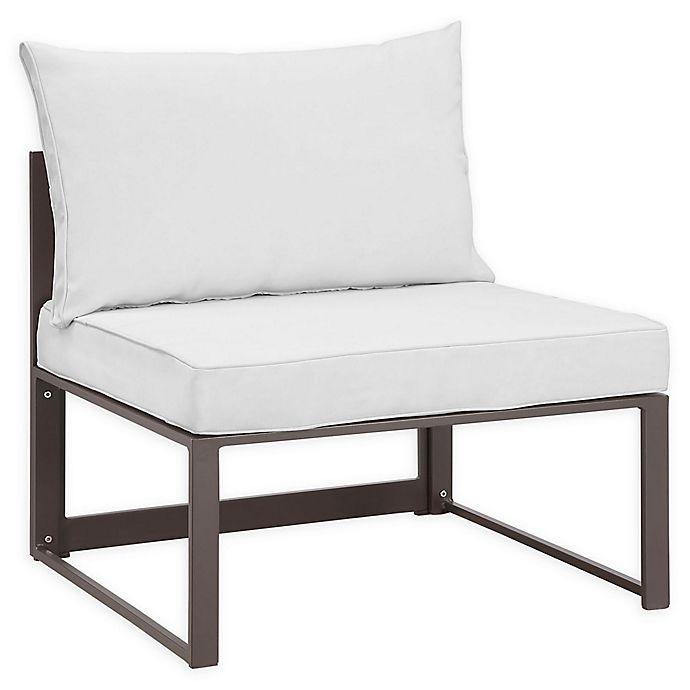 Alternate image 1 for Modway Fortuna Outdoor Patio Armless Sofa