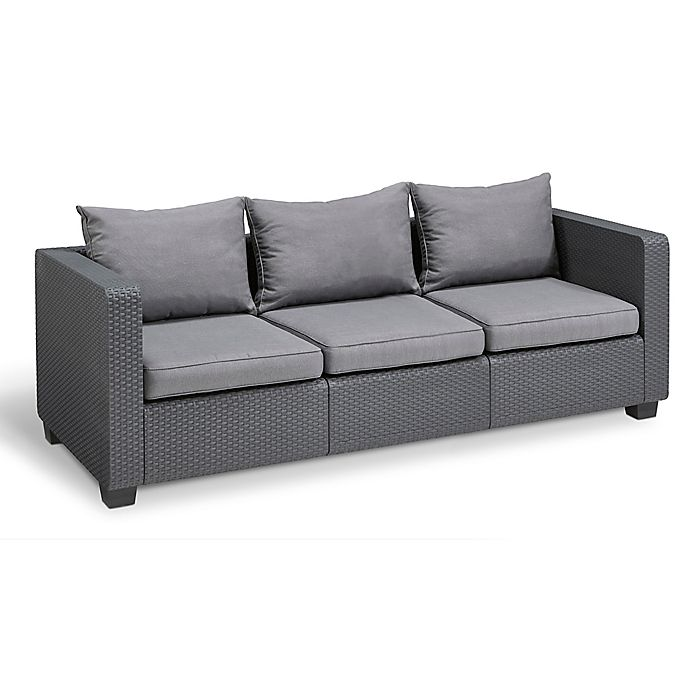 Keter Salta All-Weather 3-Seat Sofa | Bed Bath & Beyond