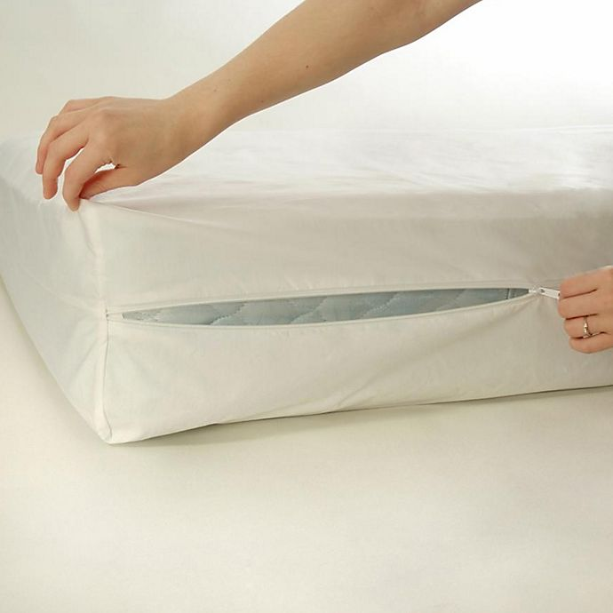 Alternate image 1 for BedCare™ by National Allergy® Cotton Allergy 9-Inch Twin Extra Long Mattress Protector