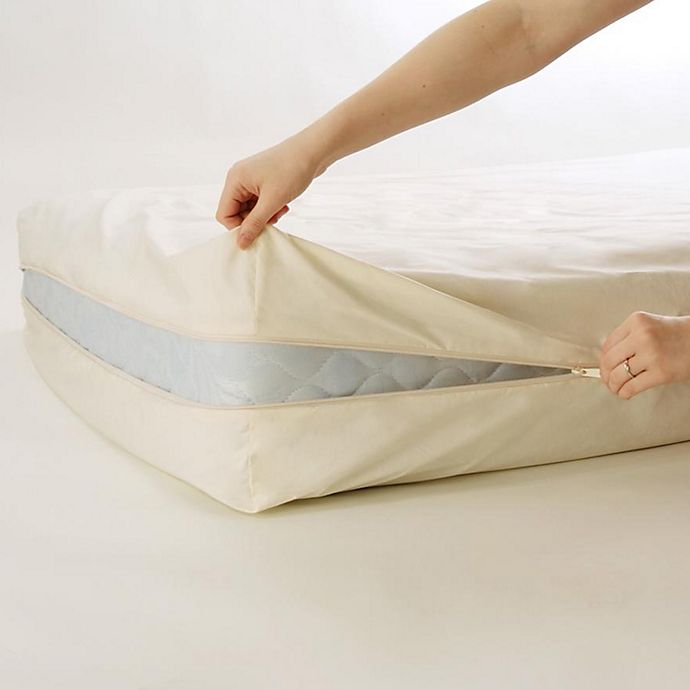 Alternate image 1 for BedCare™ by National Allergy® Organic Cotton 9-Inch Twin XL Mattress Protector