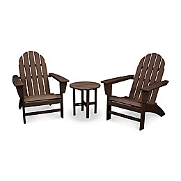 POLYWOOD® Vineyard 3-Piece Adirondack Set