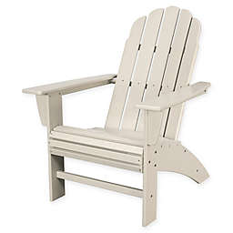 POLYWOOD® Vineyard Curveback Adirondack Chair in Sand