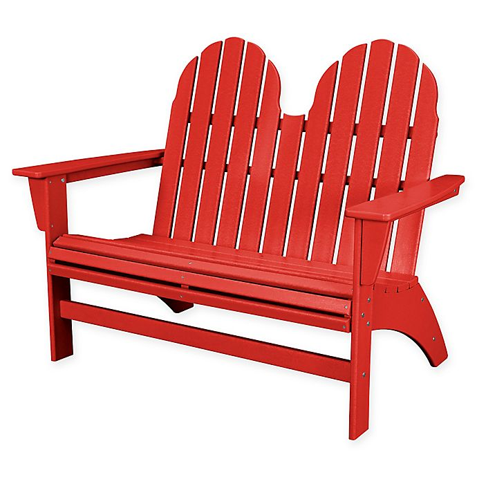 Alternate image 1 for POLYWOOD® Aruba Vineyard Adirondack Bench