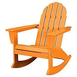 POLYWOOD® Vineyard Outdoor Adirondack Rocking Chair