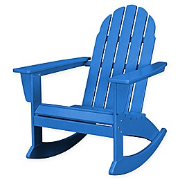 POLYWOOD® Vineyard Outdoor Adirondack Rocking Chair