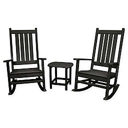 POLYWOOD® Vineyard 3-Piece Rocking Set