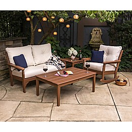 POLYWOOD Vineyard 4-Piece Deep Seat Rocker Set