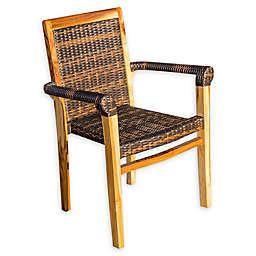 EcoDecors® Teak Viro Stacking Chair