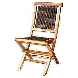 EcoDecors® Teak Viro Folding Chair