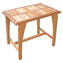 EcoDecors® Tranquility Teak Patio Dining Table