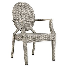 Modway Casper Outdoor Patio Arm Chair in Light Grey