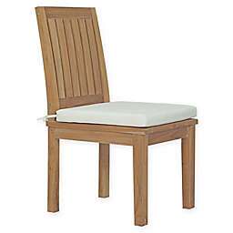 Modway Marina Outdoor Patio Dining Chair in Teak