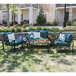 Leisure Made Jasper 4-Piece Outdoor Patio Furniture Set