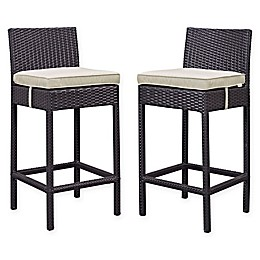 Modway Lift Outdoor Patio Bar Stools (Set of 2)