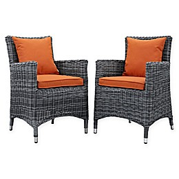 Modway Summon Outdoor Patio Arm Chairs (Set of 2)