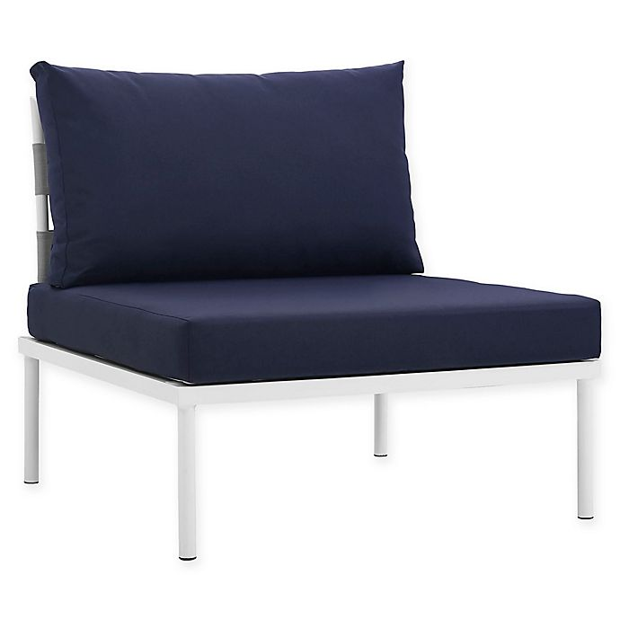 Alternate image 1 for Modway Harmony Armless Outdoor Patio Chair