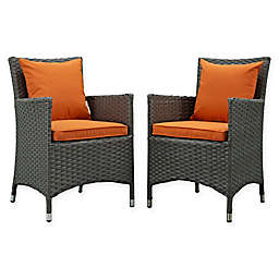 Modway Sojourn Outdoor Patio Dining Armchairs