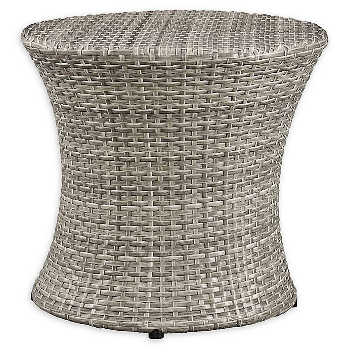 Alternate image 1 for Modway Stage Outdoor Round Side Table