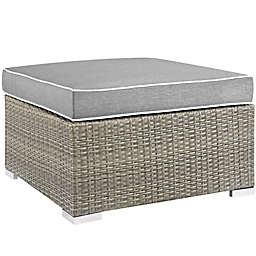 Modway Repose Outdoor Patio Square Ottoman