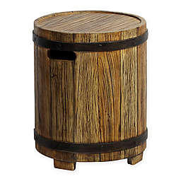 Ove Barrel Outdoor Side Table