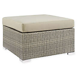 Modway Repose All-Weather Sunbrella® Fabric Patio Ottoman